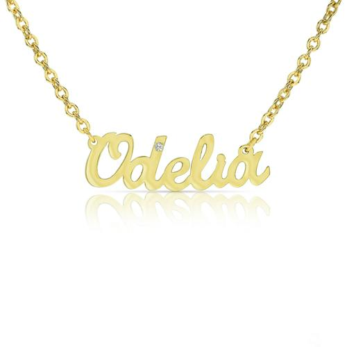 PERSONALIZED CARRIE NAME NECKLACE