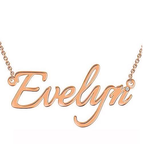 PERSONALIZED MONOTYPE NAME NECKLACE