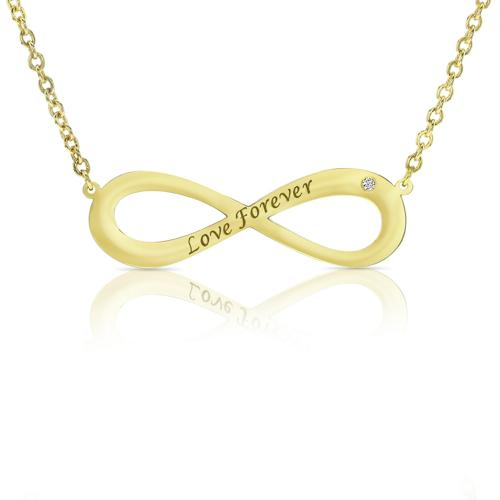 INFINITY DIAMOND FOREVER LOVE