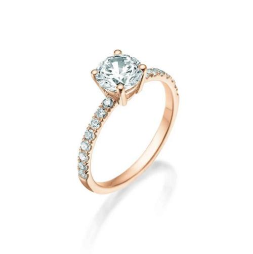 BASKET SOLITAIRE RING