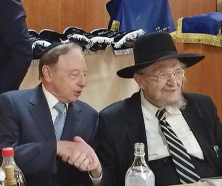 """Rabbi Feinstein Zt""""l and Jack Forgash"""