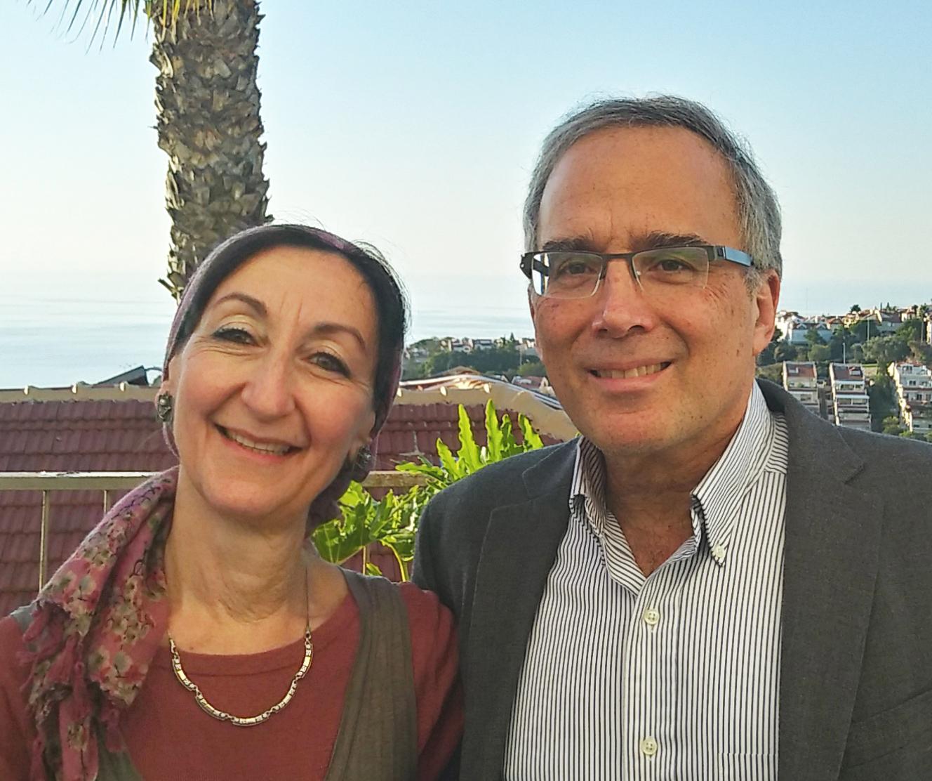 Jeanette and Professor Ross Pinsky